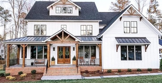 The Best Farmhouse Exterior Design Ideas